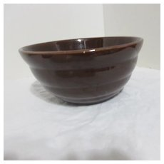 Bauer Ringware Brown Mixing Bowl
