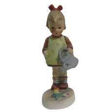 Hummel Figurine Little Gardener Girl with Watering Can
