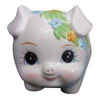 Lefton Ceramic Piggy Bank