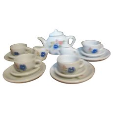 Child's Miniature Tea Set