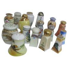 Set of 16 Single Salt & Pepper Shakers from the Golden Age of S & P's