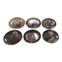 Set of 6 Plates from The Life of Jesus Series from ArtAffects Company