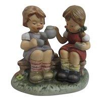 Goebel Hummel Tea Time Figurine in Original Box