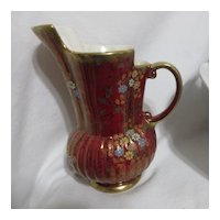 Crown Devon/S. Fielding Son & Co of England Luster Pitcher/Vase
