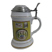 ABA Beer Stein Celebrating Beer History and  Advertising Limited Edition