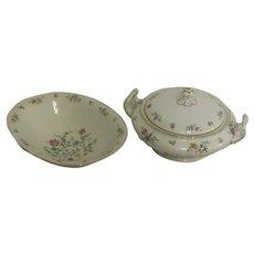 Franconia Krautheim Millefleurs Pattern 2 Vegetable Bowls