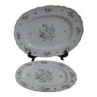 Franconia Krautheim Millefleurs Pattern 2 Serving Platters