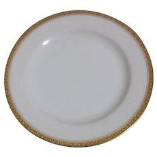 Haviland H4021  B& B /Dessert Plate White with Embossed Trim