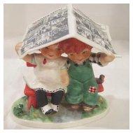 Vintage Goebel Red Headed Figurine from Wes s