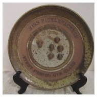 Vintage Plate of Miss Picklepackers First Period Gym Class