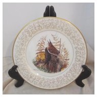 Vintage Don Whitlatch Gorham Limited Edition Decorator Plate House Wren