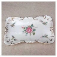 "Vintage Spode ""Billingsley Rose Spray"" Trinket Tray"