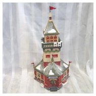 Department 56 North Pole Village Series Santa's Lookout Tower