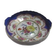 Flowered Bowl by Porcelaine de Versailles