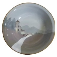 Ceramic Bowl from Germany with Scene