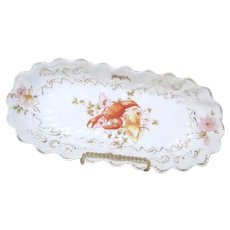Antique Victorian Lobster Plate