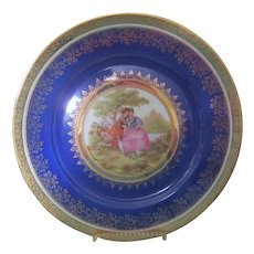 Hutschenreuther Bavarian Gold Encrusted Dinner Plate