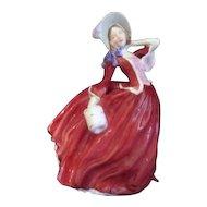 """English Royal Doulton Figurine """"Autumn Breezes"""""""