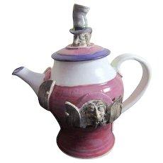 Porcelain Crazy Rogues Tea Pot
