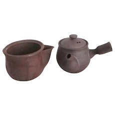 Pair of Japanese Miniature Tea Pots