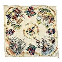 1951 Festival of Britain Souvenir Handkerchief, Hanky, Hankie