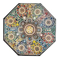 Vintage Springbok Octagonal Jigsaw Puzzle Spectacle Island Rose 500 Piece 1973