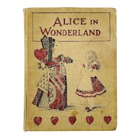 Alice's Adventures in Wonderland 1898 Book Lewis Carroll John Tenniel