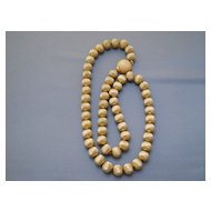 Good looking Monet textured gold tone necklace, 70's