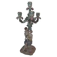 Beautiful Large Porcelain Candelabra