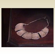 Vintage Egyptian Necklace - Silver