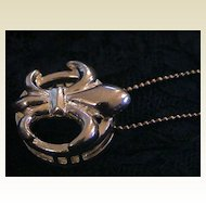 Artisan Fleur-di-lis Slide Sterling Silver