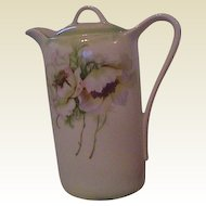 Wonderful Vintage Floral Coffee Pot