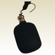 Black Frosted Glass Perfume bottle