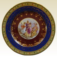 Rosenthal Figural Cabinet Plate