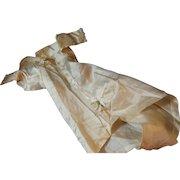 Antique Silk Wedding Gown