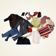 Large Assortment of Ken Clothes
