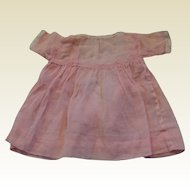 Antique Pink Voile Dress