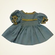 1940'sto 1950's Commercially made Doll Dress
