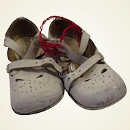 Wonderful Old Childs Shoes for Doll