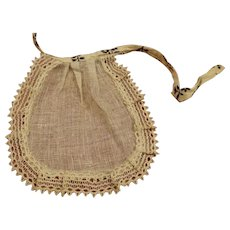 Antique French Fashion Apron