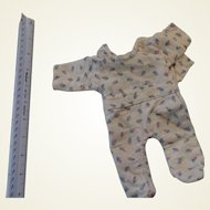 """Dainty Floral Jammie for 11"""" Effanbee type doll"""