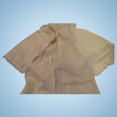 Wonderful Vintage Pram Coat With Cape for baby Doll
