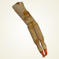 Antique Body with Papier Mache legs