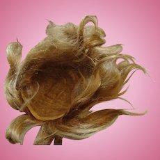 Antique Human Hair wig