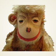 """12"""" Mohair Monkey by Master Toys of Distinction"""