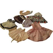 """Group Of Commercially Made 8"""" Doll Dresses"""