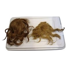 2 wigs, 1 antique, 1 Vintage
