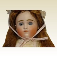 Beautiful and Rare IX Closed Mouth Doll, Attributed to Kestner with Early Body
