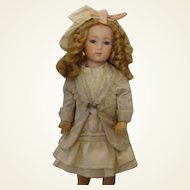 "Antique Silk Pale Seafoam Outfit for 15-16"" Doll"