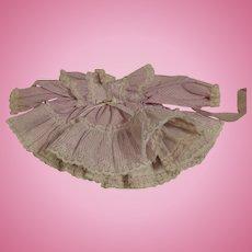 Vintage Toddler Doll Dress